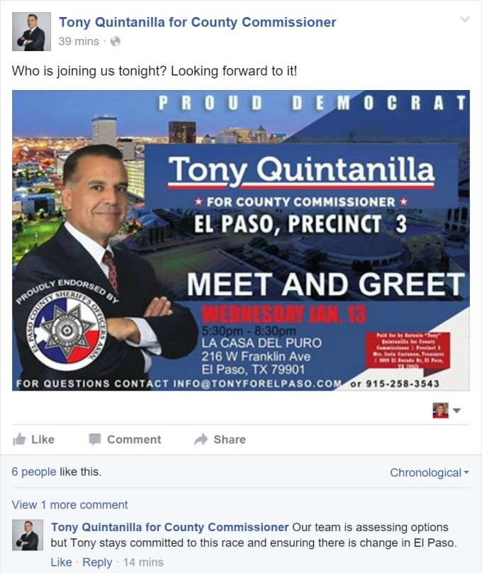 Tony Quintanilla FB